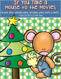 Who doesn't love this fun Laura Numeroff holiday story. The packet will provide literature, writing, math, word work and a craft connections. So much fun for your little ones.  Included you will receive writing, reading activities, word work, math and a craft!