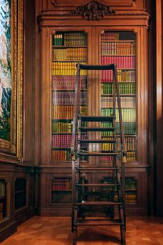 The silence of musty bookshelves