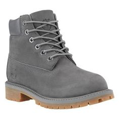 411db9e66a8 Timberland - Boots 6-inch Premium Junior - Gris Monochrome Timberland  Grise