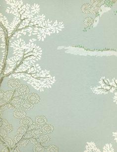 Oriental Tree wallpaper from GP & J Baker