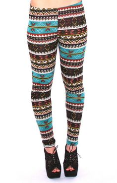 By The Christmas Tree Legging in Teal Christmas Leggings, Distressed Skinny Jeans, Printed Shorts, High Waist Jeans, Leg Warmers, Denim Skirt, Joggers, Teal, Girly