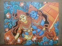 Mural Painting Thrissur, kerala, india klairvoyant craftastic, craft & arts