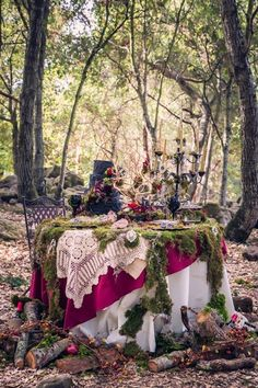 "Let the celebration begin!  I would love to do a ""fairy party"" in the woods some day, no matter how old I am."