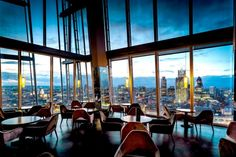 How does drinks at the 31st floor sound? The 31st floor of The Shard. You can also eat here but it's the drinks they are famous for. #aqua #shard #London #travel #guide #style #luxury #restaurant #bar #drinks #fashionista