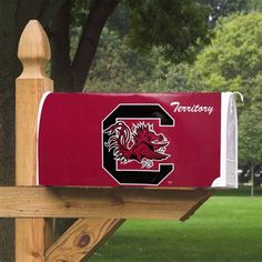 University of South Carolina Gamecocks - magnetic mailbox cover