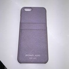 Michael Kors Lilac iPhone 6 case March collection Michael Kors Accessories Phone Cases