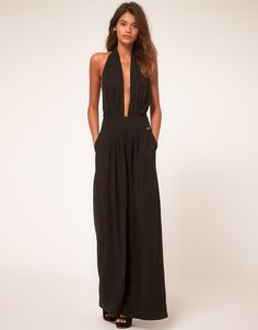 MISS SIXTY    Miss Sixty Jumpsuit with Plunge Front
