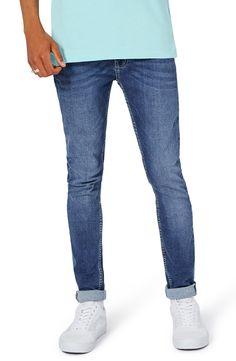 New Topman Spray-On Skinny Fit Jeans ,BLACK fashion online. [$60]newtopfashion top<<