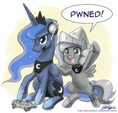 Gamer Luna and Woona PWNED by johnjoseco