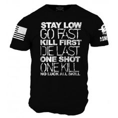 I want this one. I like black tee's as it is anyway but when you have words of wisdom like these, then I have to have it!. JLE