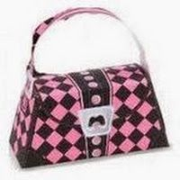 Monster High: Bags in Pink Print for FREE.