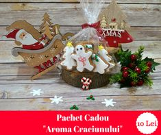 This gingerbread package is a perfect idea for a Christmas gift Christmas Goodies, Christmas Gifts, Xmas, Christmas Ornaments, Christmas Gingerbread, Mocca, Packaging, Holiday Decor, Sweet