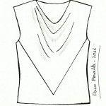 unique way to do a cowl Cowl Neck Top, Skyline, Sewing, Blouse, Unique, Inspiration, Vintage, Women, Biblical Inspiration