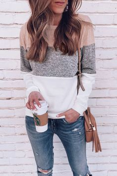 casual fall outfits that will make you look cool 3 Style Outfits, Cute Casual Outfits, Fall Fashion Outfits, Look Fashion, Autumn Fashion, Casual Style Women, Spring Outfits Women Casual, Casual Women's Fashion, Womens Fashion