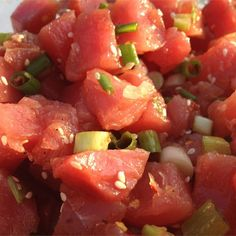 "Ahi Poke Basic I "" Came out VERY VERY close to the restaurant in ..."