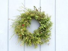 Fall wreath with berries. Syyskranssi.