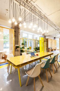 matoffice · Yuanyang Express We+ Co-working Space