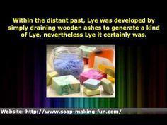 ▶ How To Make Soap at Home Without Lye - YouTube http://www.youtube.com/watch?v=cx6XI_-G2IE