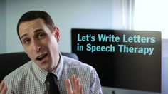 Lets Write Letters in Speech Therapy - Pinned by @PediaStaff – Please Visit  ht.ly/63sNt for all our pediatric therapy pins