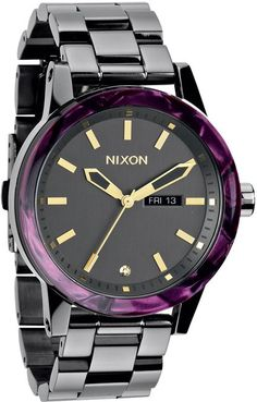 LOVE Nixon The Spur #watch http://www.swell.com/Womens-Accessories-New-Products/NIXON-THE-SPUR-WATCH-8?cs=GM #purple