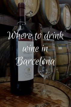 Wondering where to drink wine in Barcelona? Look no further than this amazing list of some of our top places to enjoy a glass at any time of the day or evening! Wine Coolers Drinks, Drink Wine, Wine Tasting Near Me, Wine Direct, Spanish Cuisine, Spanish Food, Wine Auctions, Order Wine Online, Wine Gift Baskets