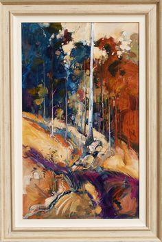 Ken Strong 'Baffled' Oil 112cm x 75cm #14044