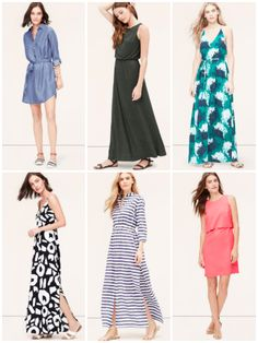 LOFT Friends and Family Sale- cute dresses from LOFT