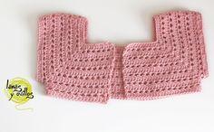 Video Tutorial Patrón para niña de 2 años aprox. con lana de 3,5mm y crochet de 3,25mm