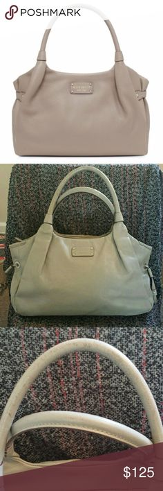 """Kate Spade Berkshire Road Pebbled Leather Satchel Great kate spade bag, slight signs of wear on handles and bottom, as shown. Wear not noticeable when worn. Price reflects imperfections. Feel free to make an offer. Dimensions 17"""" wide, 10"""" high, 4.5"""" wide, 8"""" strap drop. kate spade Bags"""