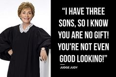 Judge Judy on Good Looks