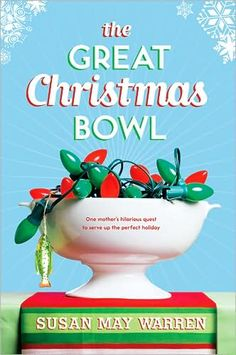 Are you already stressed about the holidays? Cooking, cleaning, shopping, wrapping, life so busy you can't find the time to catch your breath?  Susan May Warren's The Great Christmas Bowl is the PERFECT Christmas book! It's not long, so it's easy to read in a short time, and it'll make you laugh til you cry, and cry til you laugh.