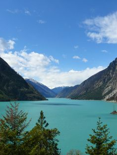 Lillooet lake British Columbia