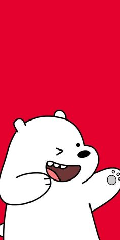 We Bare Bears Shared Naty On We Heart It pertaining to The Most We Bare Bears Red Wallpaper - Find your Favorite Wallpapers! Red Wallpaper, Cute Disney Wallpaper, Kawaii Wallpaper, Cute Wallpaper Backgrounds, Mobile Wallpaper, Iphone Wallpaper, Wallpaper Wallpapers, We Bare Bears Wallpapers, Panda Wallpapers