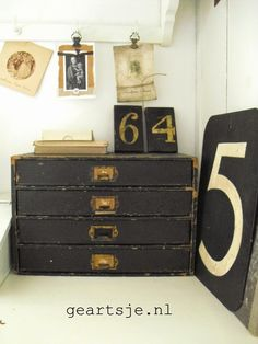 Loving the drawers...and the numbers...and....