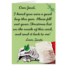 Now Use Sendoutcards To Send Letters From Santa To Your Children