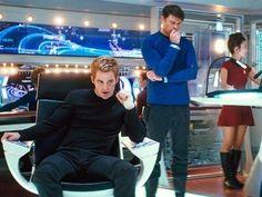 Kirk in Star Trek (2009)