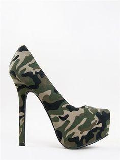 1000 ideas about camo high heels on pinterest high heel. Black Bedroom Furniture Sets. Home Design Ideas