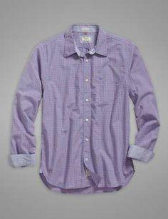 The Laundered Shirt Medieval - Peony Mini Plaid
