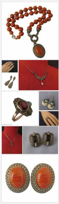 Judith and her husband Jack Rosenberg created the company Judith Jack in 1969 when they realized there was very little marcasite estate jewelry available.    Visit the Stuff4Uand4U store on eBay for a nice selection of Judith Jack Jewelry.