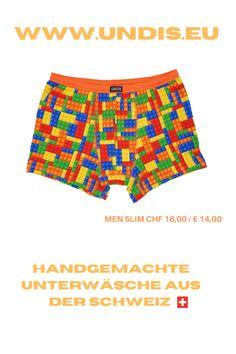 UNDIS www.undis.eu Bunte, lustige und witzige Boxershorts & Unterhosen für Männer, Frauen und Kinder. Handgemachte Unterwäsche - ein tolles Geschenk für den Vatertag, Muttertag oder Geburtstag! online unter www.undis.eu #geschenkideenfürkinder #geschenkefürkinder #geschenkset #geschenkideenfürfrauen #geschenkefürmänner #geschenkbox #geschenkideen #geschenkidee #shopping #familie #diy #gift #children #sewing #handmade #männerboxershorts #damenunterwäsche #schweiz #österreich #undis Funny Underwear, Underwear Men, Swimming, Swimwear, Fashion, Funny Husband, Gift Ideas For Women, Men's Boxer Briefs, Sew Gifts