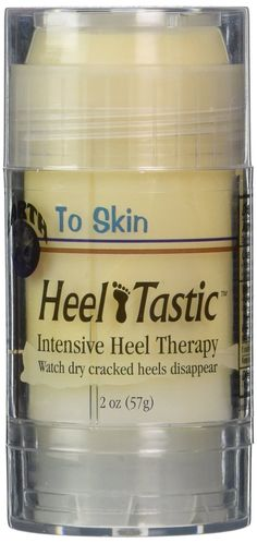 Telebrands Earth to skin- Heeltastic intensive heel therapy 2oz 57g Pack of 1