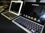Backlight keyboard for iPad