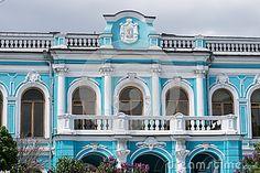 Фасад XIX века в Москве