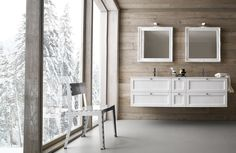 Mobili da Bagno componibili Compab. Rivenditore a Roma Double Vanity, Bathroom, Home, Washroom, Full Bath, Ad Home, Homes, Bath, Bathrooms