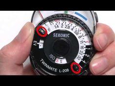 Sekonic L-208 Quick Start - YouTube