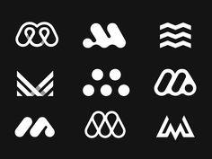 Logo-Marken - M logo m - Brand Logos Music Logo Inspiration, Inspiration Logo Design, Rage Against The Machine, Typo Logo, Logo Branding, Brand Identity, Www Logo, Liz Phair, Kevin Parker