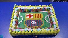 Dulce Diseño El Born ha preparado esta tarta para un aficionado culé. ¡FORÇA BARÇA!