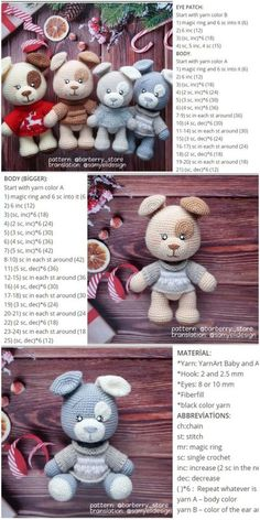 We will share a wonderful amigurumi dog free crochet pattern in this article. You can find everything you want about Amigurumi. We will share a wonderful amigurumi dog free crochet pattern in this article. You can find everything you want about Amigurumi.