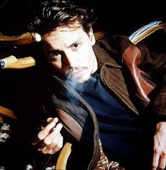 https://flic.kr/p/5CuCXQ | 289115b | Mandatory Credit: Photo By SIPA PRESS / Rex Features JOHNNY DEPP JOHNNY DEPP AT THE CANNES FILM FESTIVAL, FRANCE- MAY 1998 SMOKING BLOWING SMOKE THROUGH NOSTRILS NOSE