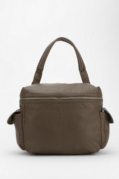 BDG Slouchy Vegan Leather Satchel Bag #urbanoutfitters